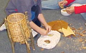 acorn grinding