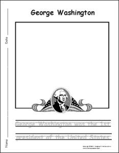 George washington writing paper personal argument essay